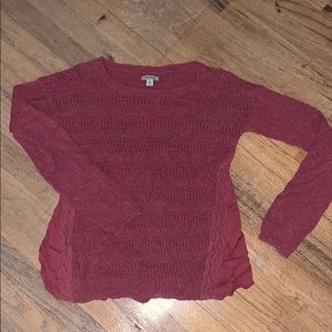 Lucky brand knit red sweater